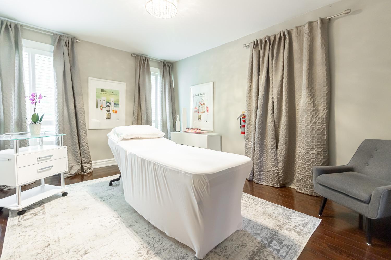 Lavender Rose Day Spa Massage Room