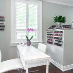 Lavender Rose Day Spa Pedicure Table