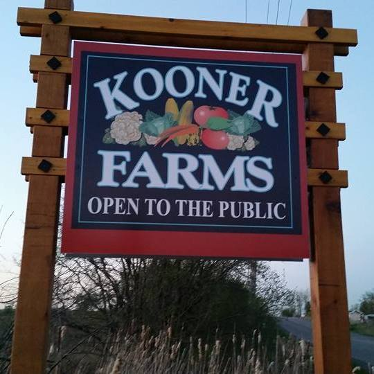 Kooner Farms Entrance Sign