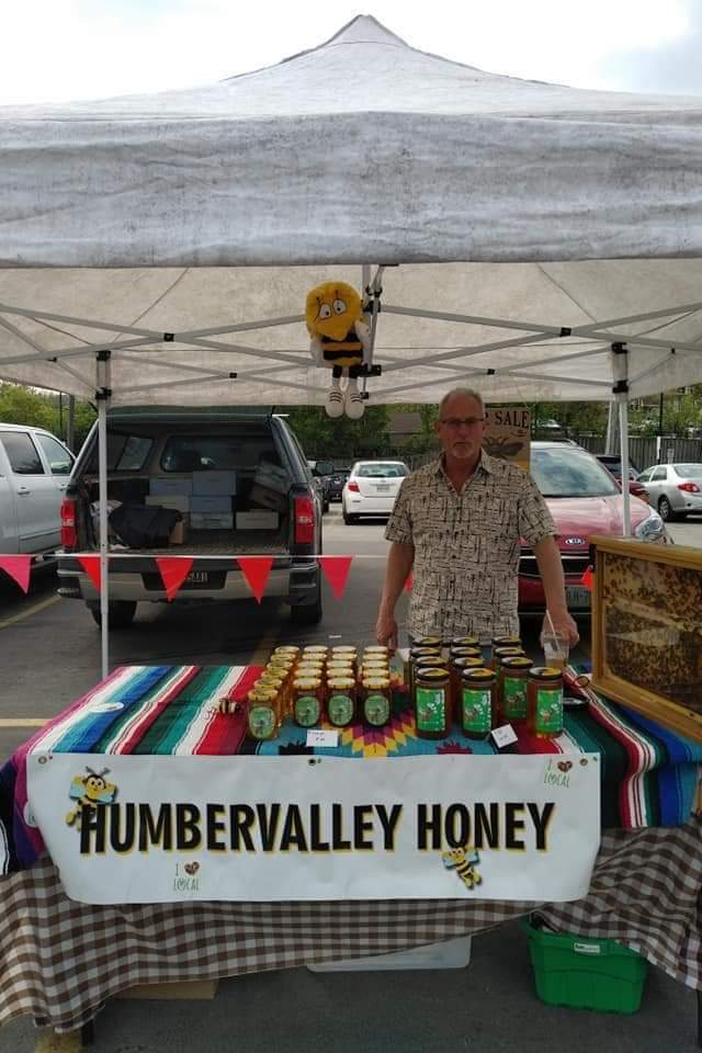 Humbervalley Honey Farmers Market Booth